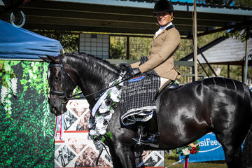 Royal Olympia Universal Stables - Champion Newcomer Small Hunter Hack