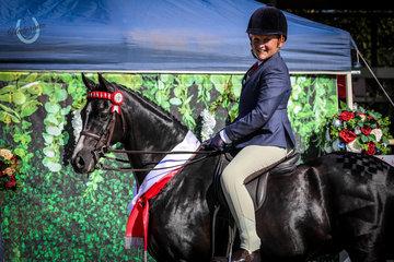 Sabastian Lucas and Mirinda Bold Bow - Runner up Owner Rider pony