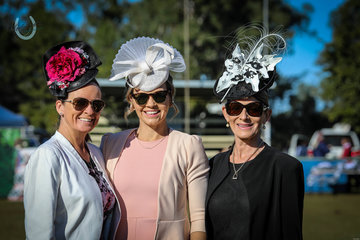 The official interstate EQ Newcomer Show Judges left to right Carlene Noisier NSW -Jacinta Smith  NSW - Angela Welland Hines  SA