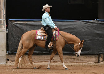 Ima Painted Chevy ridden by Alan Briskey.