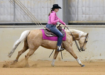 Beth Winterhalter riding SPH Fancy Little Step