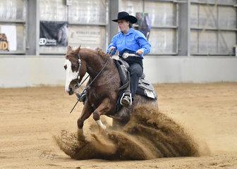 Eva Hartmann riding JY Chickashas Chic A Dee