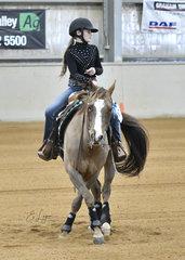 Holly Thurgood  ridingThe Interceptor