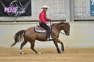 Kevin Patrick riding  Onya Shiney Nu Toy