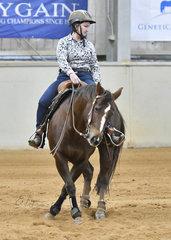 Nicola Riseborough riding ME Shesa Smart Chic