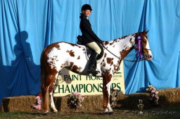 Stacey Bentley & Kunda Feminette were the winners of the Junior Youth Hunter Under Saddle.