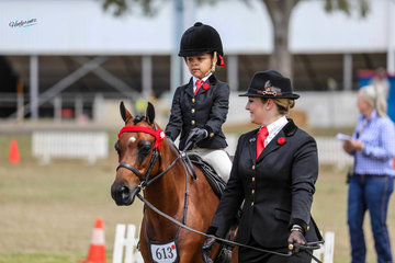Silkwood Heaven for sure and rider Cleo Valentine Duncan runner up leading rein pony