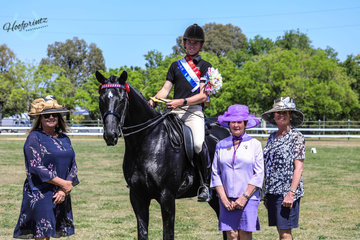 Supreme rider was Rhys Stanley sposnored by JMJ canes and PAE