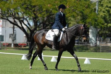 Zoe Smith rode Jokare Hush in the Official Novice to score 60.4% and place third.