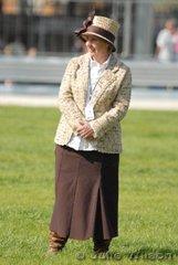 Light Harness judge, Sharon Dunne.
