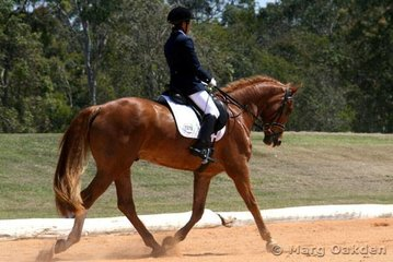 Adloo Roberto & Sarah Sutherland competing in the Preliminary 1.2 Division A.
