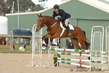 Jason Anderson riding WG Scania in the showjumping of Preminary section 1.