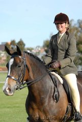 Brooke Smithers from Gawler in Tasmania had a successful first ever Royal Show with her 'Hawthorne Rose'.