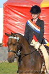 Hannah Wright was declared Champion Junior Rider.