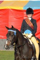 Annika White was declared Reserve Champion Junior Rider.