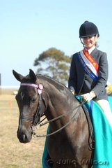 Kate Henrys-Fontaine was declared Champion District Rider 14-18 Years.