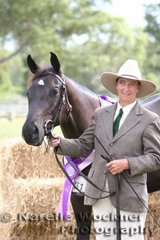 Champion Led Junior Gelding 'Sheady Knights Image' exhibited by Kayleen Shea