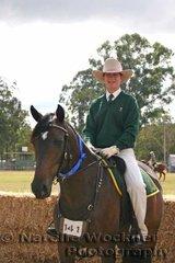 Winner of the ASHLA class and ASH & Lady Rider was Karen Nicoll & 'Springvale Sabrina'