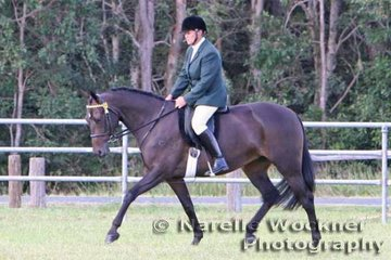 Winner of the ASH & Novice Rider 'Southern Cross Solitaire' and Petrea Bates