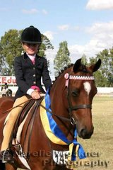 Runner Up in the Youth Gold Nugget Event 'Rascal Of Ravenswood' ridden by Charlee Anthony