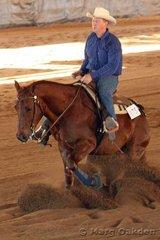 Novice Horse Non-Pro contestants, Nordic Star & Dennis Neylon.