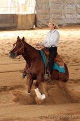 Thomas Trailers Novice Horse Non-Pro competitors, Super Elegant & Tania Powell.