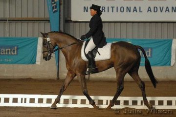 Lee Hokianga from NSW rode Jamie McDonald's, Glenorchy Hope to score 80.2 in the CCI**.
