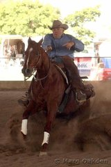 JFT Excavations & Cabling Horse 5 Years & Over Reining competitors, OK 2 B Wise & Glenn Winsor.