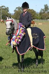 Champion Small Pony 2007 'Whitmere Royal Ballet' ridden by Jordan Skyring and owned by Polly Oliver