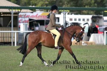 Katika Lipp riding 'Dainhill Flute' to win Reserve Champion Amateur Owner Rider Large Pony 2007