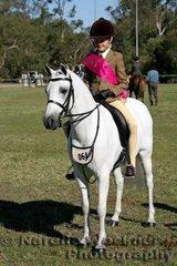 Winner of the Smartest On Parade in the Intermediate Show Hunter Pony Jemma Heran and 'Llanfairbryn Primadonna'