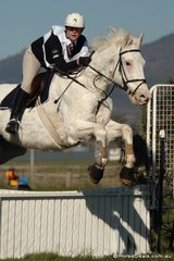 Abbi Kimberlin and 'Harry HRH' from the Kyabram Pony CLub,  were fifth in the Grade 3 competition.