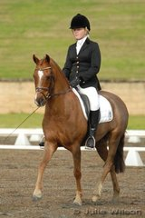 Katherine Farrell rode her well performed Owendale Lemon Twist in the Ride In Style 3.4.