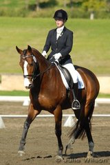 1st 2.3 70.4  Alexandra Bruggisser rode Capricio to win the Agnes Banks 2.3 on a score of 70.4%.
