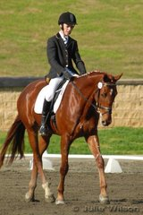 6th 2.4 65.4  Joey Baldwin rode Riverwood Prince to place sixth in the Agnes Banks 2.4 on a score of 65.4%.