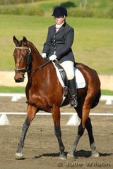 Laura Delamont rode Suzanna in the Agnes Banks Novice 2.3.