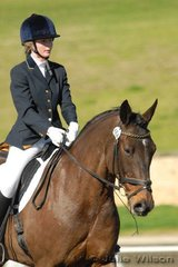 Kaitlin Moylan an Northern Corinth by Northern Congress competed in the Agnes Banks Novice 2.3.