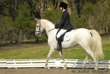 Kathryn Hall and Yaralla Estate White competed in the NSW State Pony Championships Novice EFA 2.3.
