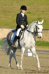 Nicole Burns and Lac-la-Biche Dynamique placed second the NSW State Pony Dressage Medium EFA 4.4. they went on to win the NSW Pony dressage Elementary Championship.