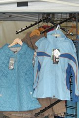 It was unfortunate at this event thieves stole a number of clothing items similar to these blue jackets and vests from Equissentials and a large number of bridles from Ride In Style. If anyone one can help find this stoled property it would be greatly appreciated.