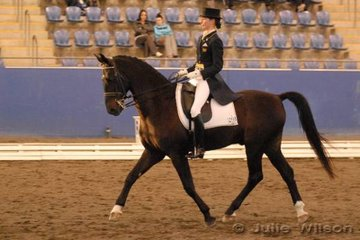 Jodie Newall and Kragelunds Donovan competed in the Centennial Vineyards Intermediate I and took second place.