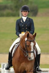 Biance Barnes and Highborn Badden competed in the Hamish Rogers Realty Advanced 5.4 and was awarded fourth place.