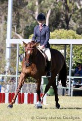 Game N Vain ridden by Pania Sutton were 5th place in the Ridden Hack class