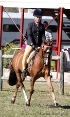 Rosewell Performing Arts & Kirsty Purcell were 3rd placegetters in Large Ridden Pony
