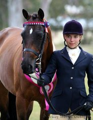 5th in Led Hack was Canopygrove Bit Of Heaven shown by Kate Galloway