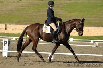Olympian Rebel Morrow rode Mr. Personnality in the CNC* Division 1.