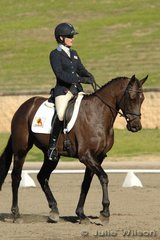 Experienced competitor, Tasha Hammond and Crackberry competed in the CNC* Division 2.