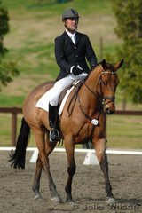 Experience competitor Tim Boland rode Military Road in the Pre-Novice Division 1.