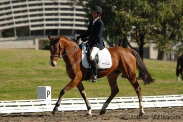 Carlene Barton and APH Meander competed in the Intro Division 1.