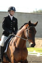 Well know show jumping rider Alyssa Mathers, turns her hand to eventing riding Kaiser Moon in the Intro. 1.